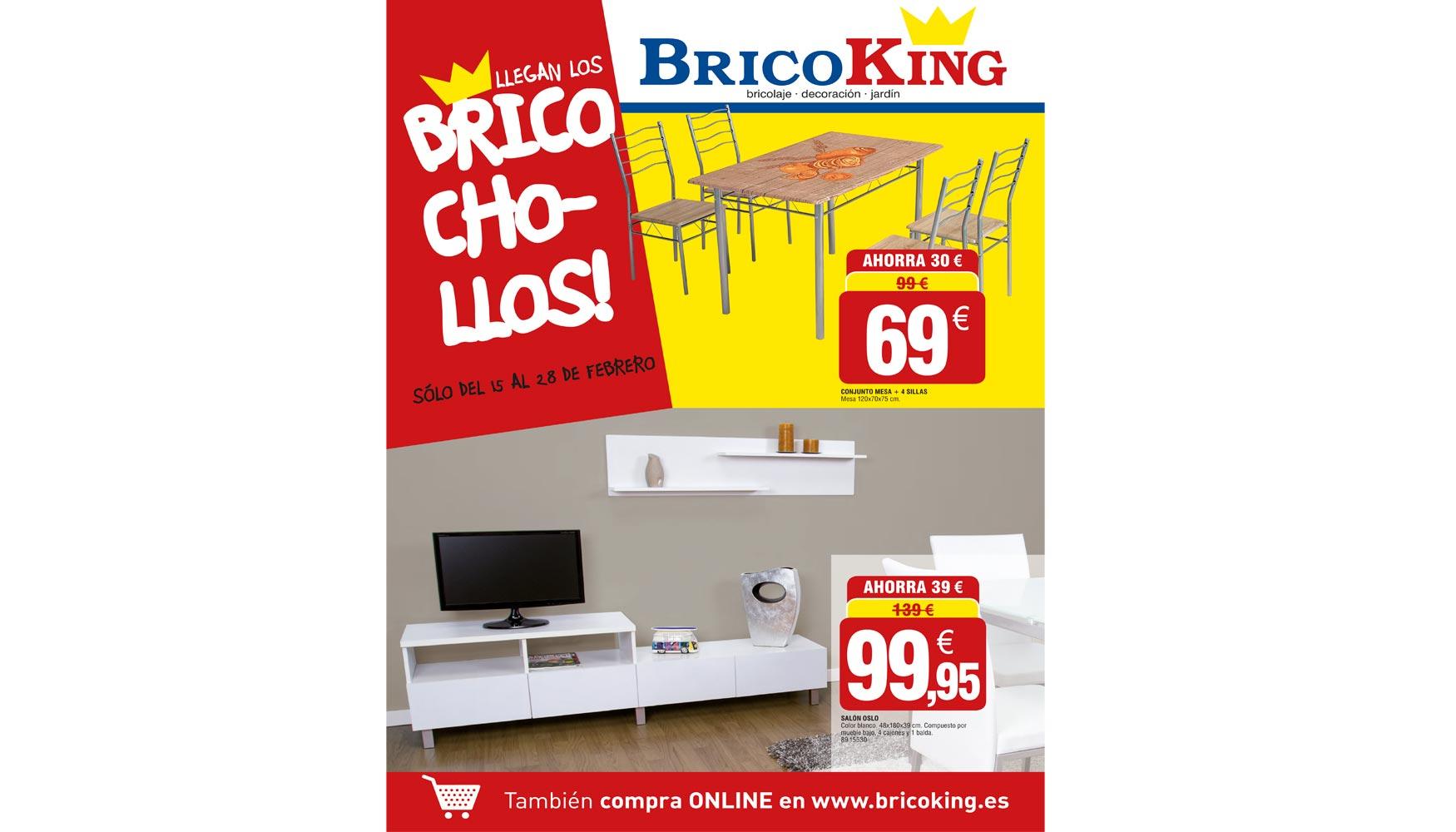 Bricoking lanza su nuevo folleto brico chollos ferreter a - Estanterias bricoking ...
