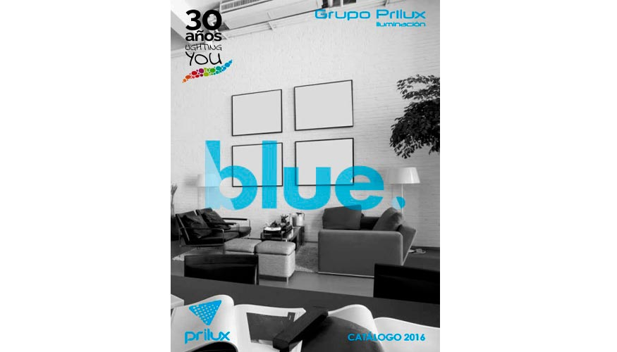 Prilux lanza blue su nuevo cat logo de iluminaci n led - Catalogo de iluminacion interior ...