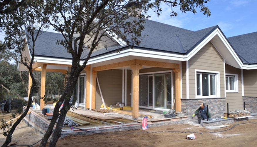 Hqh mide la eficiencia energ tica de la nueva casa pasiva for Canexel construcciones