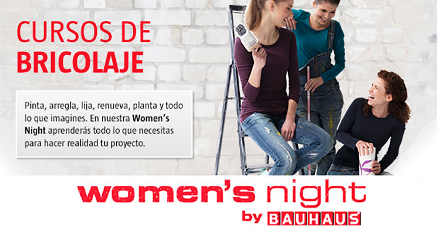 bauhaus zaragoza celebra su segunda women 39 s night ferreter a. Black Bedroom Furniture Sets. Home Design Ideas