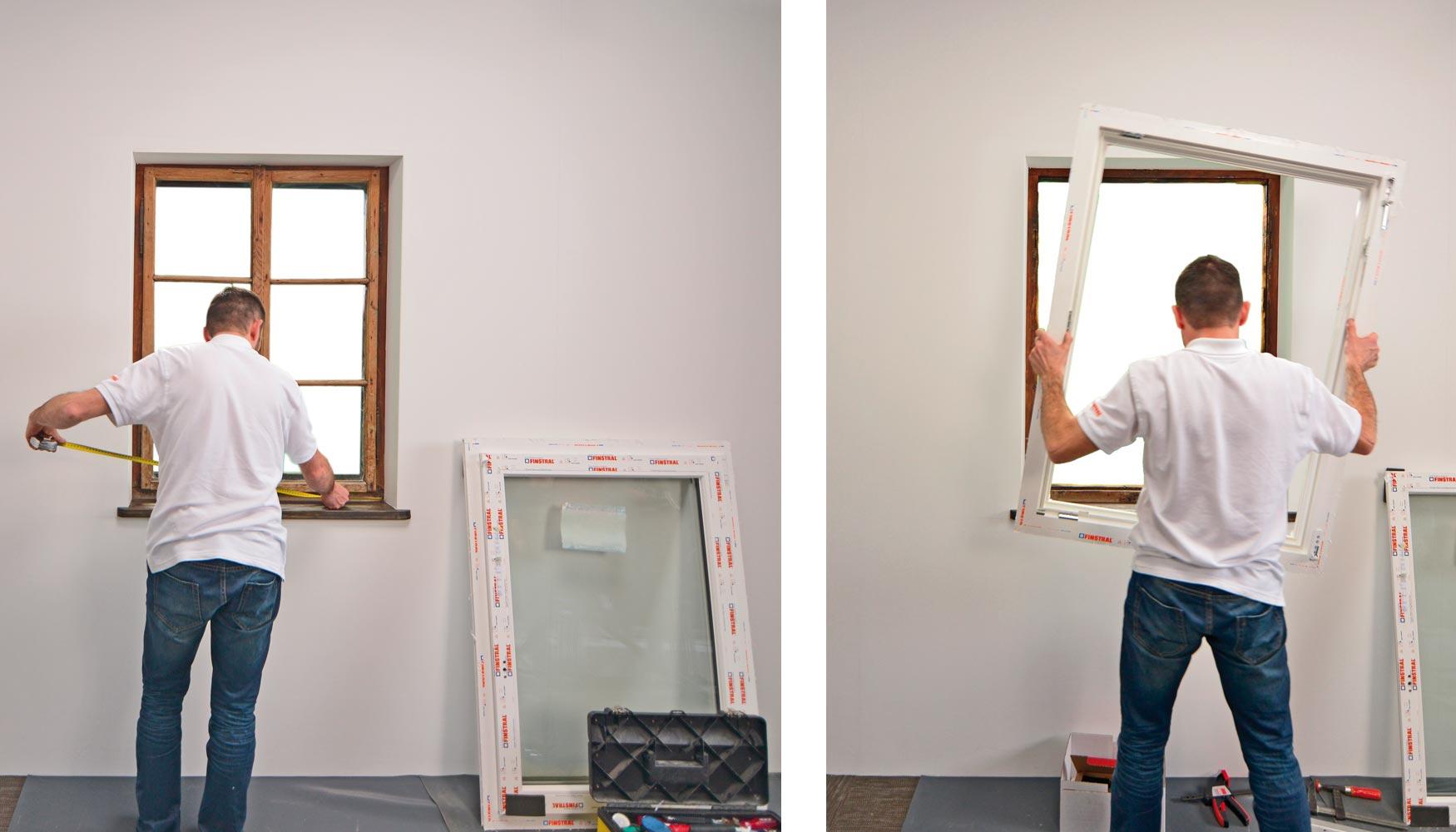 finstral permite una sustitucin de ventanas rpida y eficiente