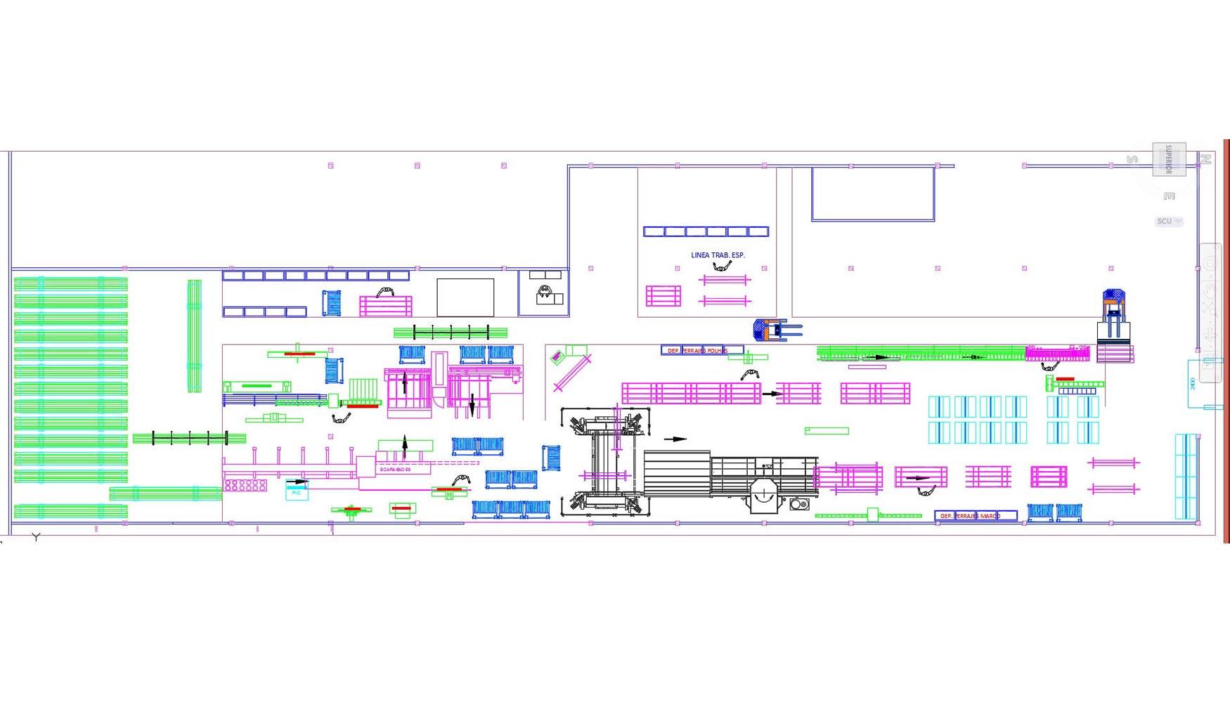 Cu ndo es necesaria una nueva distribuci n en planta for Distribucion de oficinas en una empresa