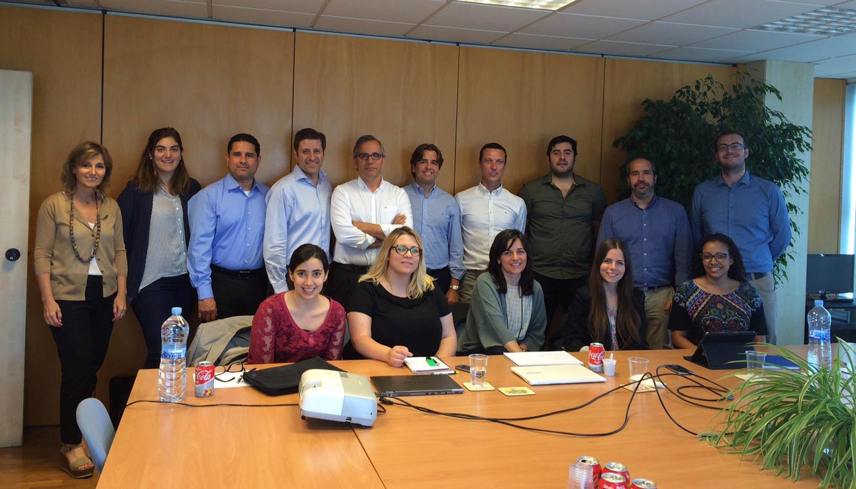 Afeb organiza tres reuniones de los grupos de trabajo e for Trabajo de interna en barcelona