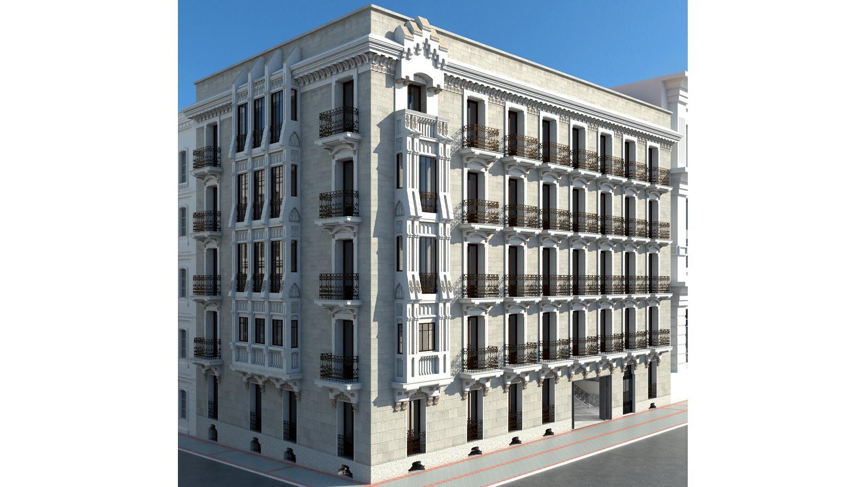 salsa patrimonio grupo mazacruz ha elegido a aguirre newman para la del edificio alfonso xi en madrid el activo cuyo proceso de