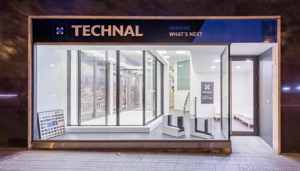 el nuevo espacio expositor showroomde technal en madrid foto miguel de guzmn