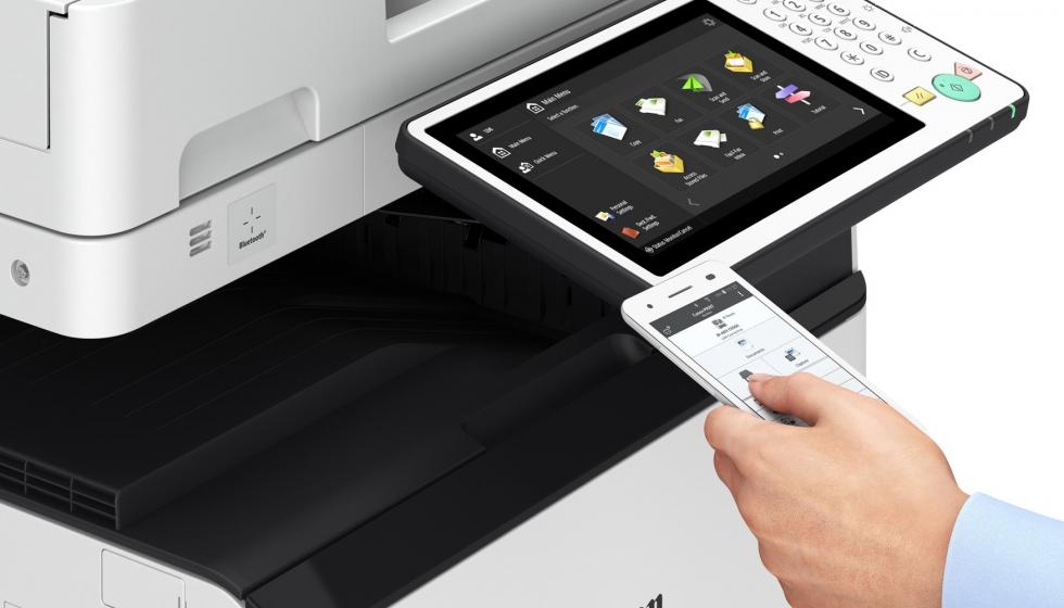 Canon lanza tres nuevas series de equipos multifunci n imagerunner advance industria gr fica - Oficina virtual industria ...