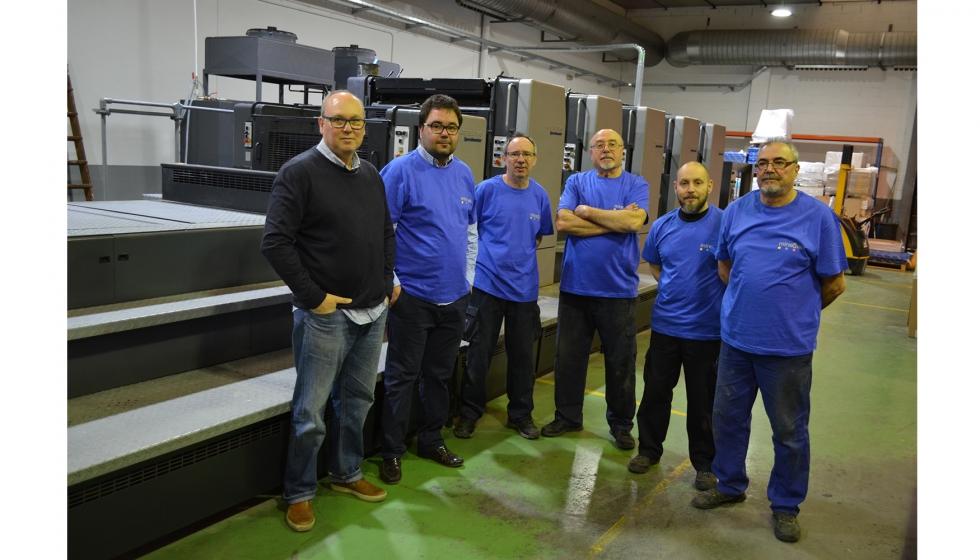 Gr ficas minerva compra a bhm una heidelberg speedmaster cd 102 5 lx industria gr fica - Oficina virtual industria ...