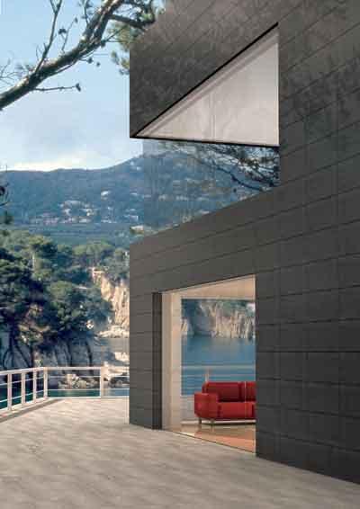 Materiales para fachadas exteriores piedra para zocalos - Materiales para fachadas exteriores ...