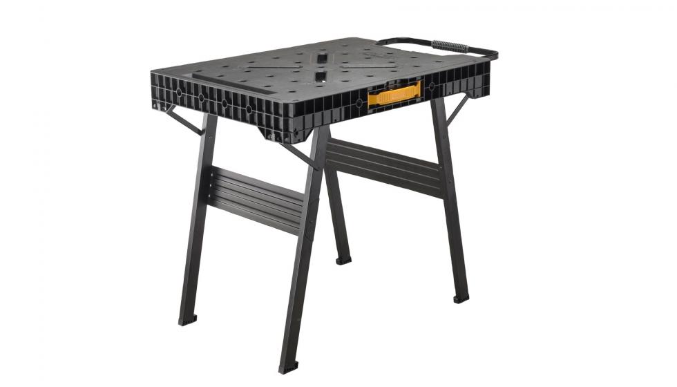 Stanley presenta la nueva mesa de trabajo plegable fatmax for Mesa plegable trabajo