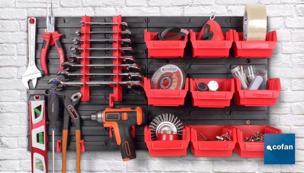 Cofan presenta su nuevo panel organizador de herramientas - Organizador de herramientas ...