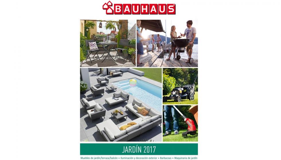 bauhaus dedica su nuevo catlogo al jardn todo tipo de muebles maquinaria barbacoas huertos urbanos iluminacin exterior llenan las pginas del