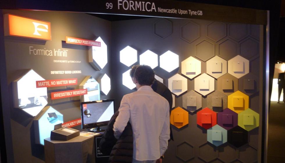 Formica muestra el potencial de infiniti en el architect for Architect work barcelona