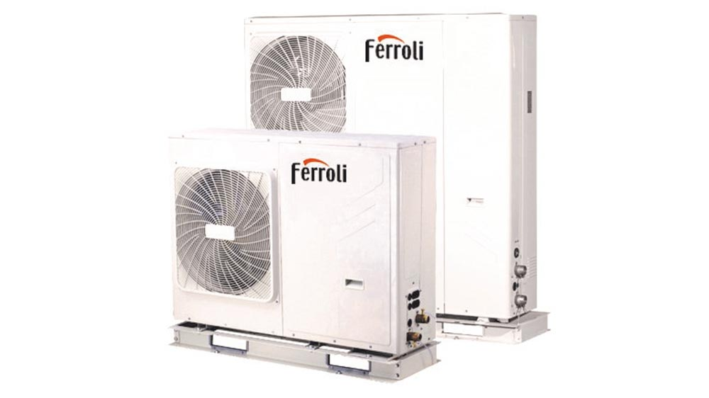 Ferroli apuesta por el desarrollo de bombas de calor - Bomba de calor de alta eficiencia energetica para calefaccion ...