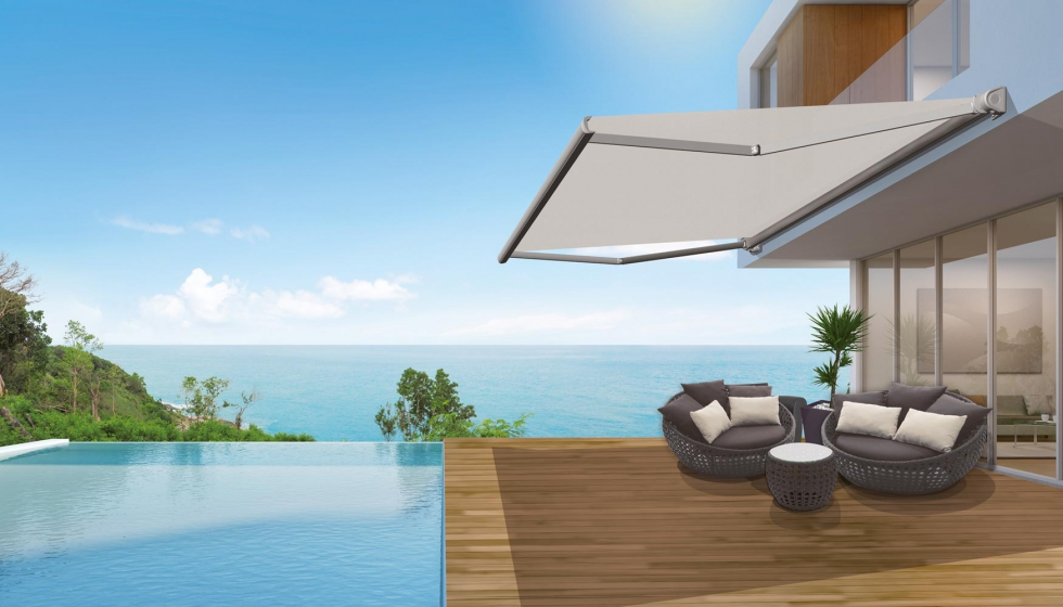 Llaza desarrolla los brazos invisibles onyx protecci n solar for Brazos para toldos llaza