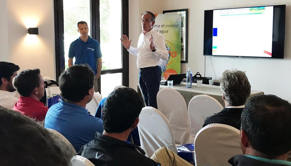 Icl y syngenta participan en la xxi jornada navarro montes for Jardineria navarro