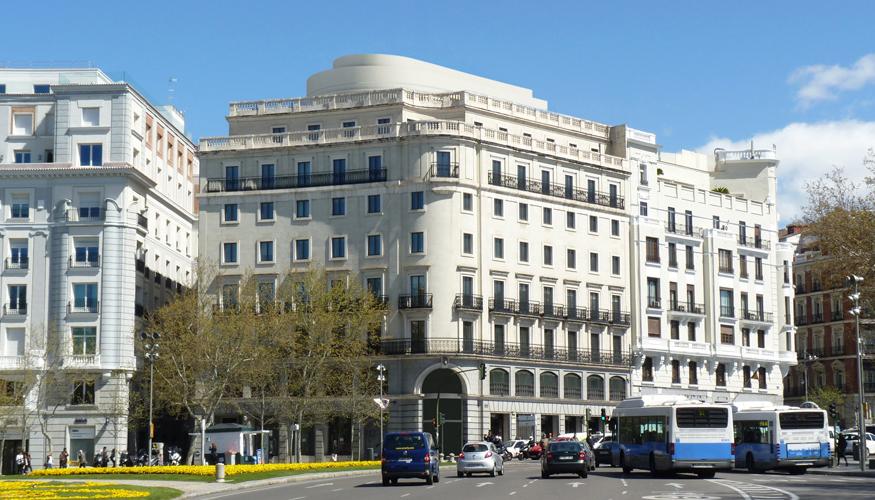 plaza de la en madrid foto aguirre newman