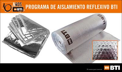 Bti t cnicas de la fijaci n lanza su nuevo programa de - Mejores aislantes termicos ...