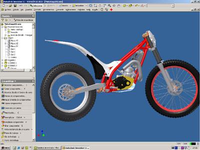 Gas gas motos aumenta su productividad con el dise o de for Programa diseno 3d online