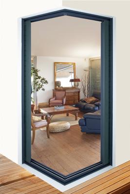 Puertas correderas de esquina invisibles cerramientos y - Puertas acristaladas exterior ...