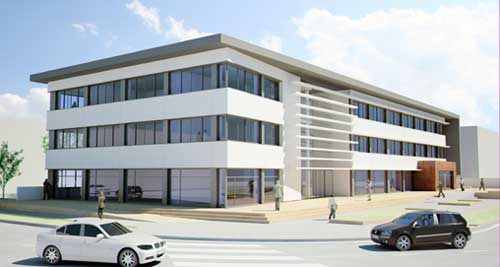 Edificio viaplata i oficinas en el parque empresarial los for Oficina zurich los llanos de aridane