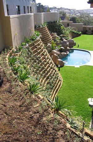 muro prefabricado contencion tierra: