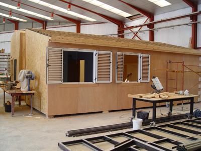 La casa prefabricada empieza a ser primera vivienda madera - Casas de madera prefabricadas monforte del cid ...