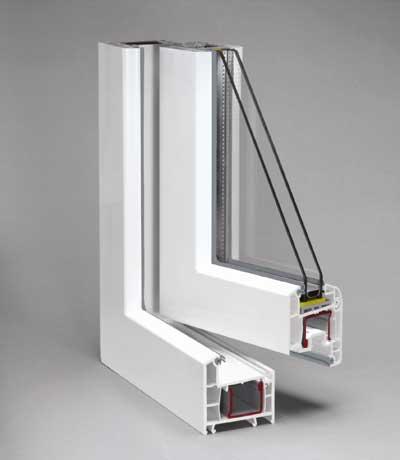 Las ventanas de pvc el futuro en el sector de los for Marcos de pvc para ventanas