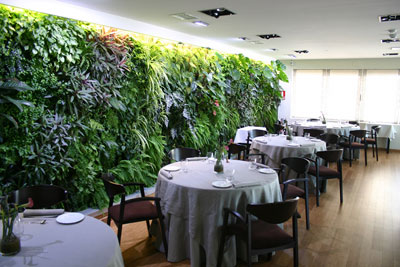 so this company has created the first interior vertical garden in the country