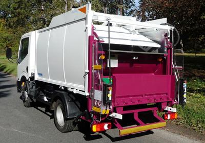 Recogida De Residuos Dom Sticos En Calles Angostas Y