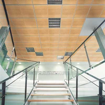 la calidez de los tonos convierten al falso techo baltech en un elemento decorativo ms que permite la creacin de elegantes ambientes