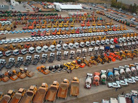 subasta maquinaria construcción construction machinery auction
