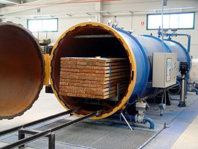 3r curso de aplicador de protectores de la madera de - Autoclave para madera ...
