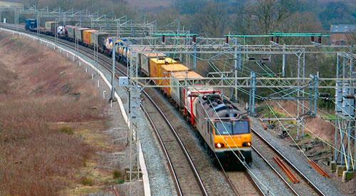 Resultado de imagen de transporte ferroviario de mercancías