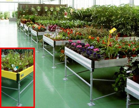 Mesas de cultivo para dar una respuesta a una demanda for Mesas de cultivo grandes