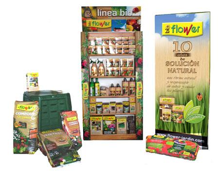 Bioflower 10 a os de productos para la agricultura for Productos de jardineria