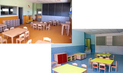 El corte ingl s divisi n comercial equipa 12 escuelas for Mobiliario para escuelas