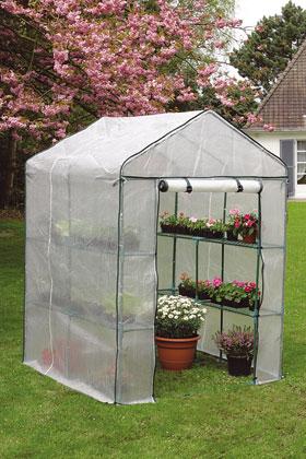 Nortene presenta su gama de invernaderos para el invierno for Invernaderos de jardin