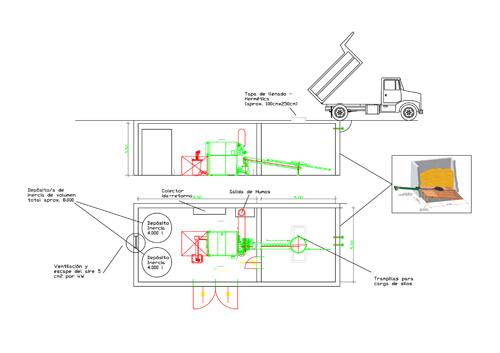 Hc ingenier a instala una caldera de biomasa kwb en un - Se puede instalar una caldera de biomasa en un piso ...