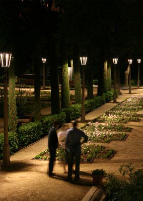 Iluminaci 243 N De Los Jardines Del Teatre Grec Innovaci 243 N Y