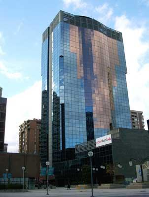 La aseguradora mutua madrile a vende la torre mahou for Oficina mutua madrilena
