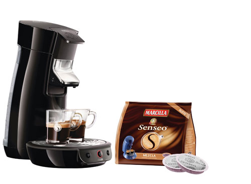 senseo douwe egberts and philips exceeds 100 million cups of coffee consumed in spain. Black Bedroom Furniture Sets. Home Design Ideas