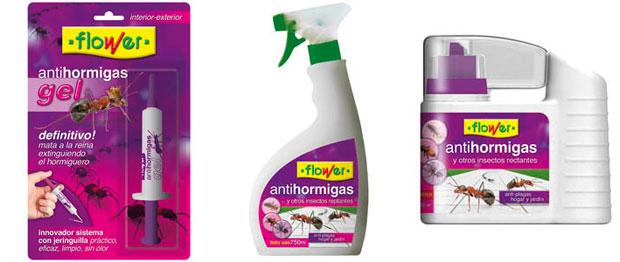 Flower lanza sus productos antihormigas para el verano for Productos accesorios para jardin