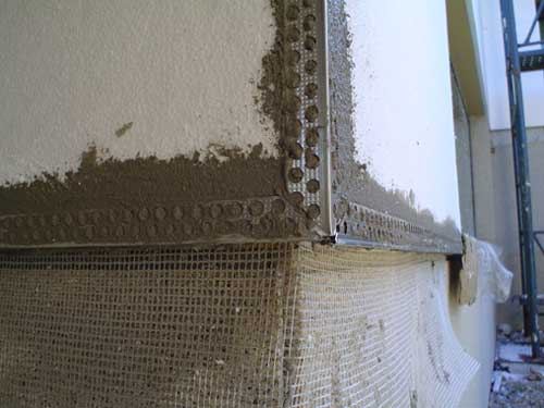 Sistema de aislamiento por el exterior construcci n - Esquineros para paredes ...