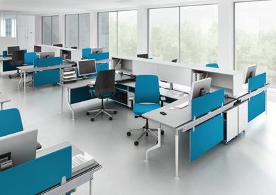 Af steelcase presenta c scape donde tecnolog a e for Areas de una oficina