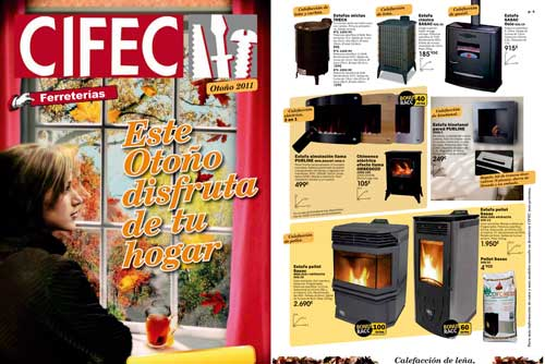 Disfrutando del calor del hogar - Chimeneas electricas bauhaus ...
