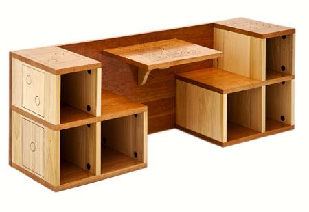 el arte de la topograf a hecho sill n de tulipero madera On diseno de muebles sencillos de madera