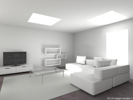 velux daylight visualizer how to delete a window