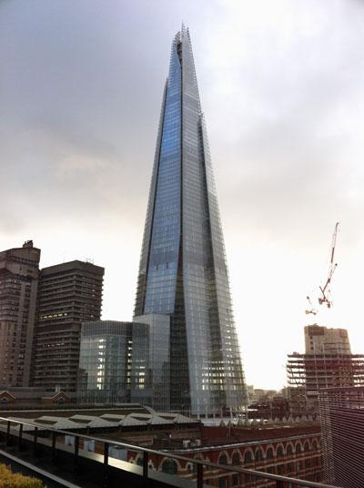 Se inaugura en londres el edificio shard el m s alto de europa oficinas y centros de negocio - Oficinas air europa madrid ...