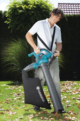 Gardena lanza dos nuevos sopladores para un control for Aspiradora de hojas de jardin