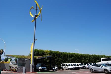 Sanya Skypump Estacion Eolica